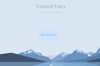Twisted Tales: Short Story Idea Generator