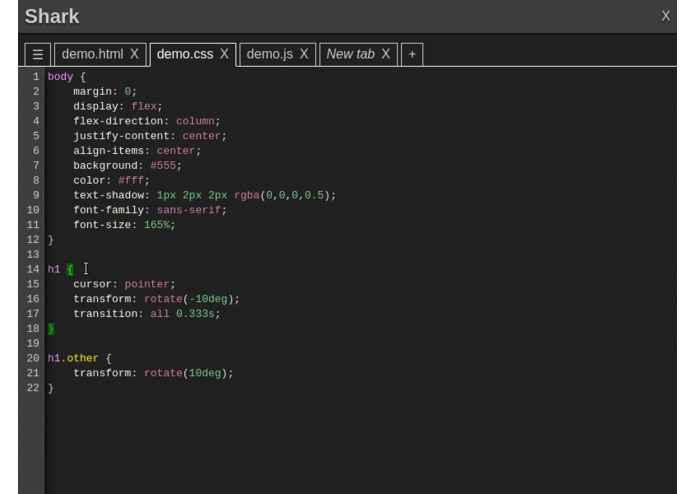 Shark Text Editor – screenshot 6