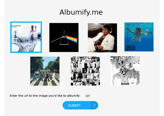 Albumify.me – screenshot 3