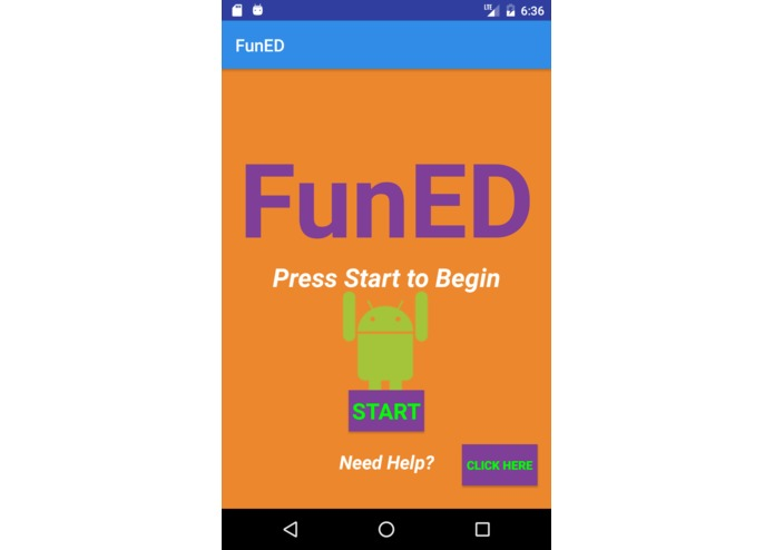 FunED – screenshot 2