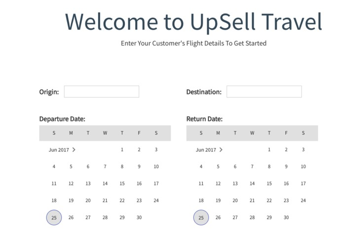 Upsell Travel – screenshot 2