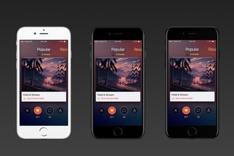 iOS Streaming Music App