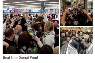 Real-Time Social Proof