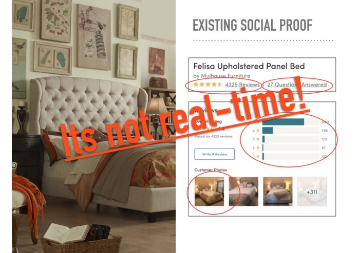 Real-Time Social Proof – screenshot 2