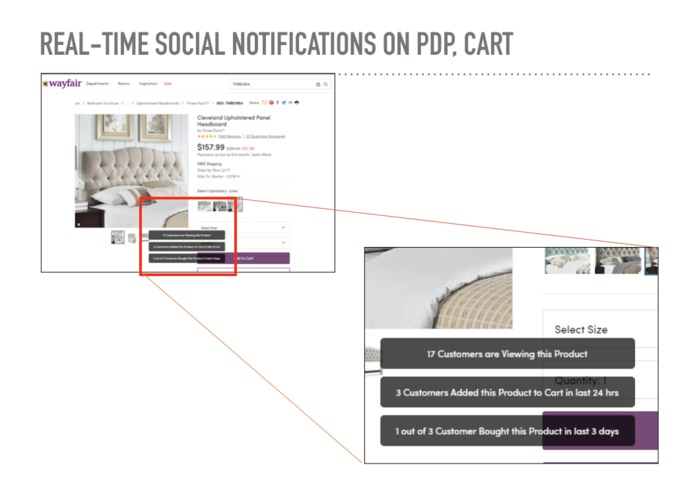 Real-Time Social Proof – screenshot 4