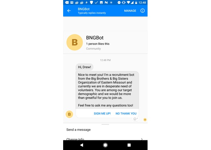 BigBot – screenshot 1