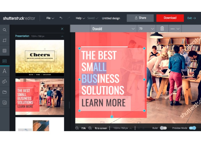 Shutterstock Editor – screenshot 1