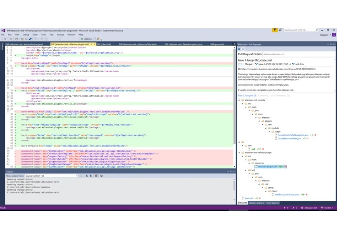 Bitbucket for Visual Studio – screenshot 6