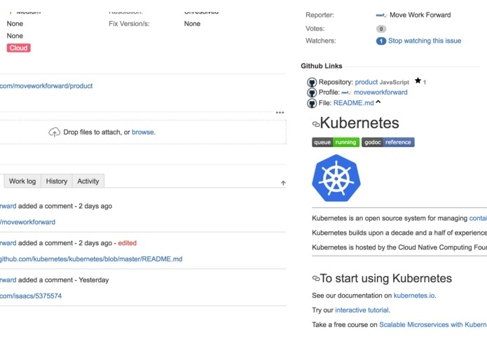 Github Links for JIRA – screenshot 3