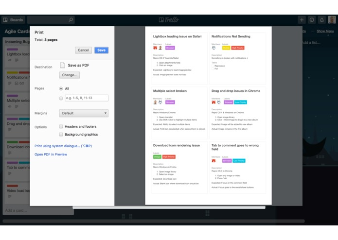 Agile Cards for Trello – screenshot 4
