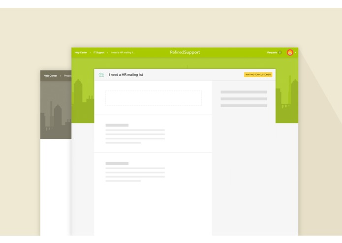 RefinedTheme for JIRA Service Desk Cloud – screenshot 1