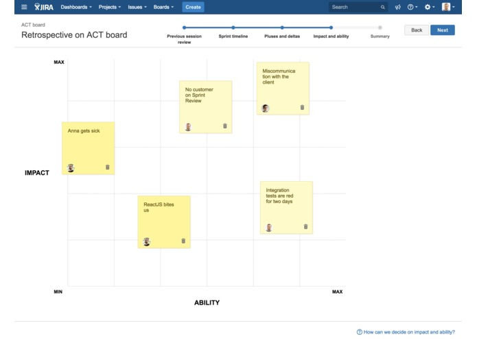 Agile Retros for JIRA – screenshot 3