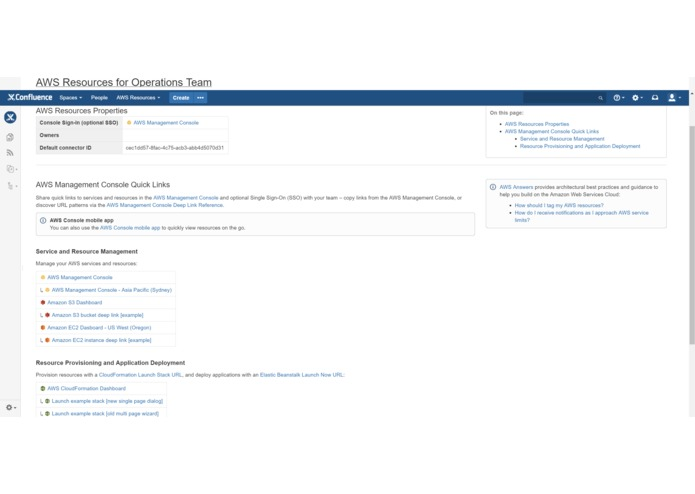 Identity Federation for AWS (Confluence) – screenshot 3