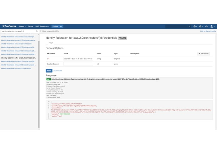 Identity Federation for AWS (Confluence) – screenshot 4