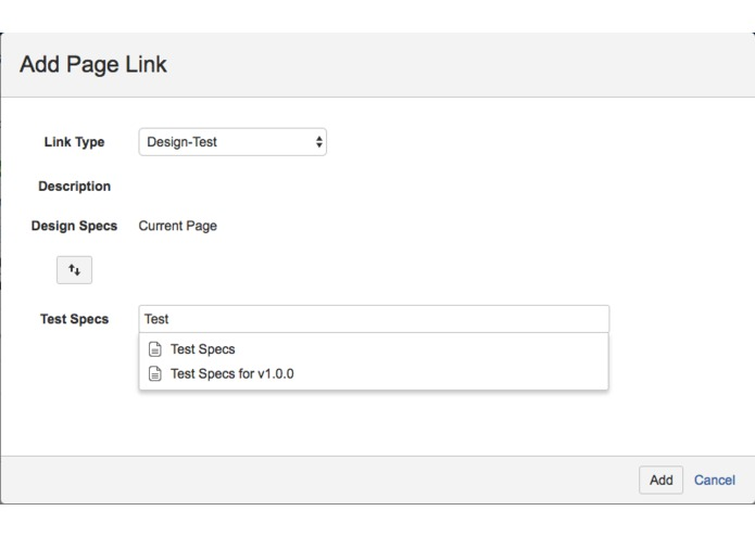 Page Linkers for Confluence – screenshot 1