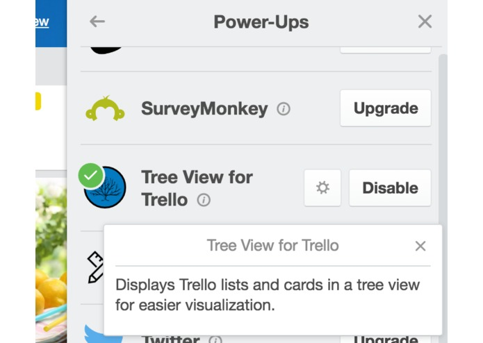 TreeView for Trello – screenshot 2