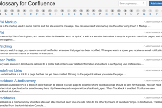 Glossary for Confluence Cloud