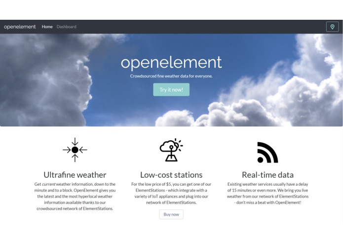 OpenElement – screenshot 1