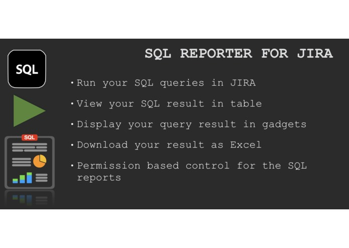 SQL Reporter for JIRA – screenshot 1