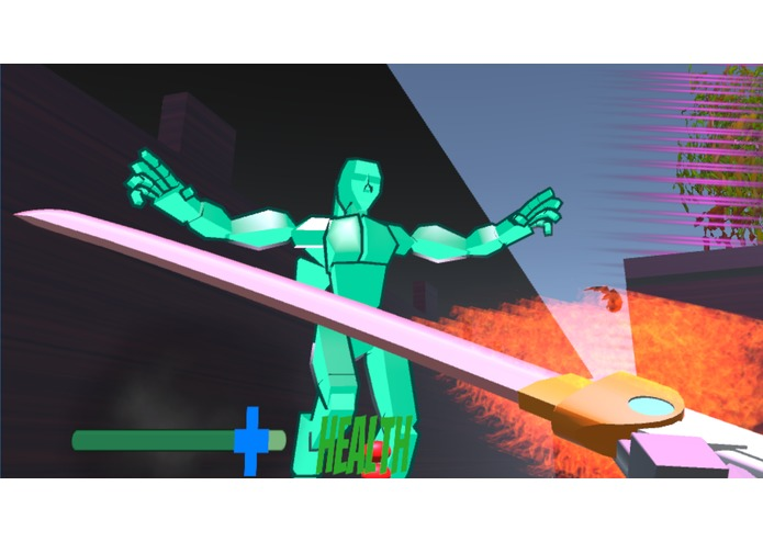 Flaming Ninja VR – screenshot 3
