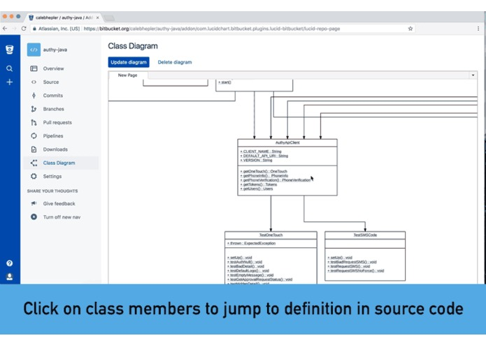 Class Diagrams for Bitbucket – screenshot 2