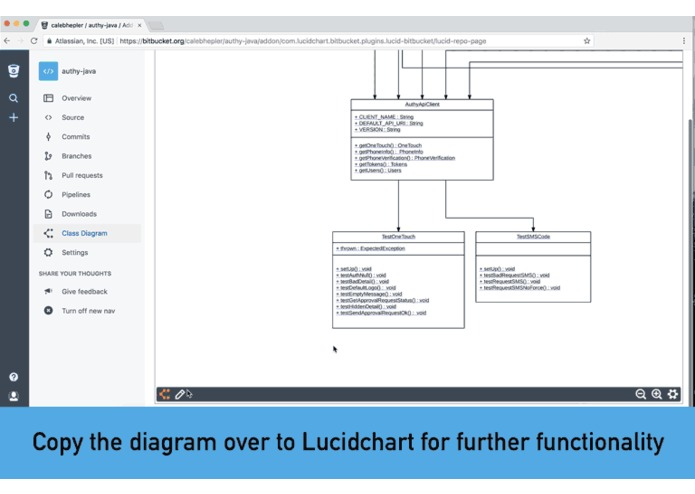 Class Diagrams for Bitbucket – screenshot 3