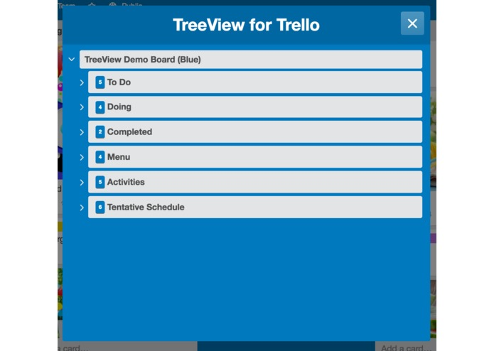 TreeView for Trello – screenshot 10