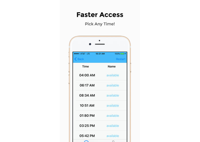 Time Flex - The smart way to check-in – screenshot 4