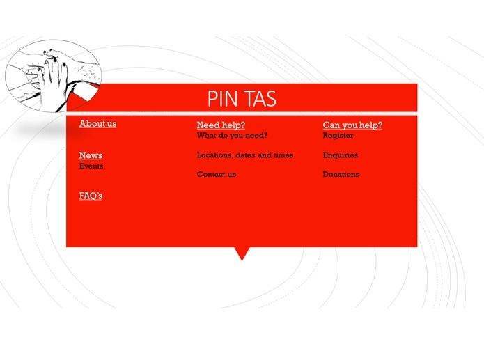 PIN TAS – screenshot 1