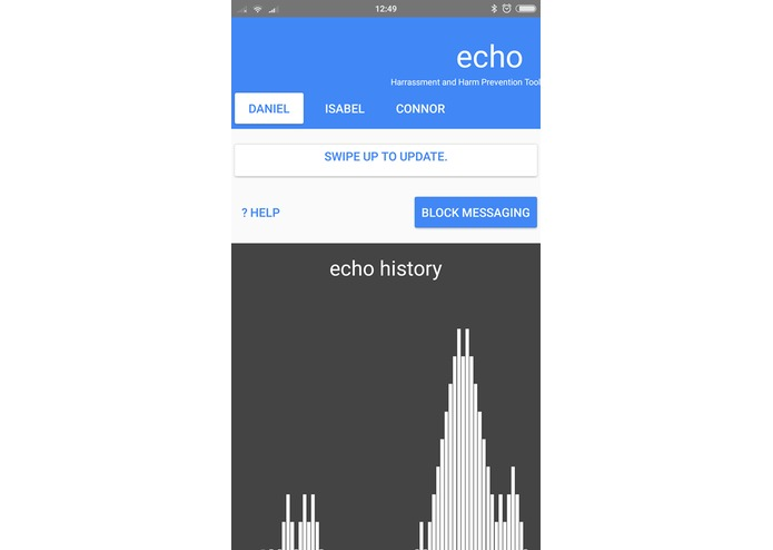 Echo - Harassment & Harm Prevention & Control Tool – screenshot 1