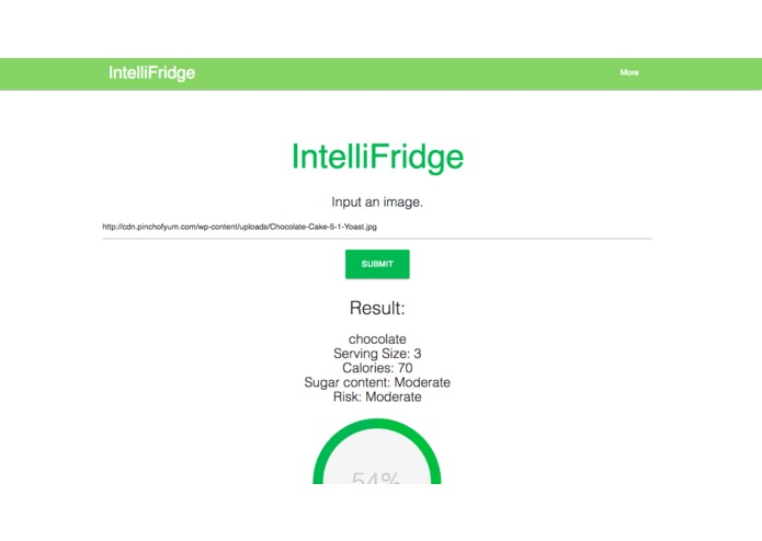 IntelliFridge – screenshot 2