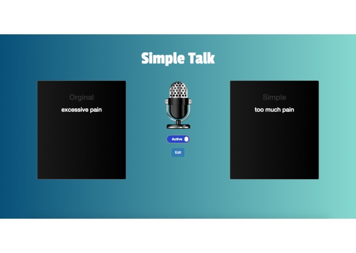 Simple Talk – screenshot 1