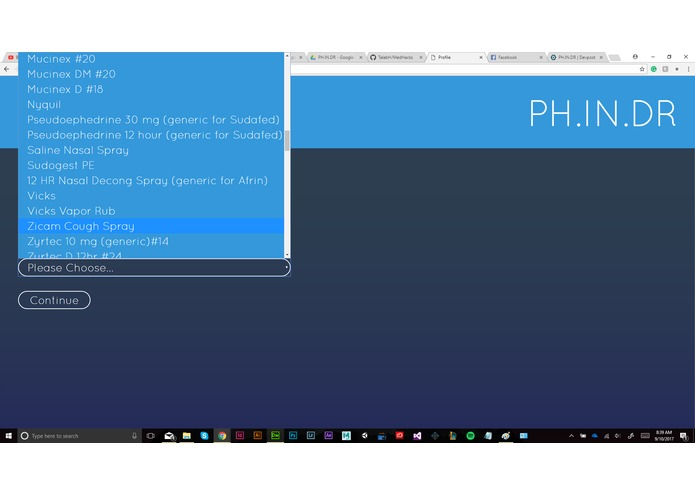 PH.IN.DR – screenshot 4