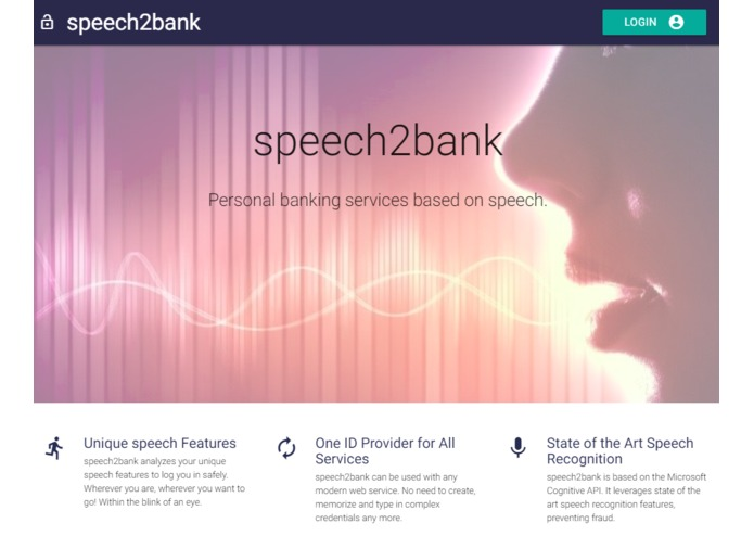 Speech2Bank – screenshot 2