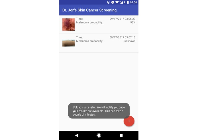 Dr. Jon's Skin Cancer Screening – screenshot 3