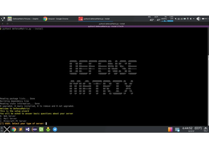 DefenseMatrix – screenshot 2