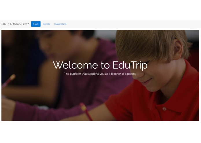 EduTrip – screenshot 1