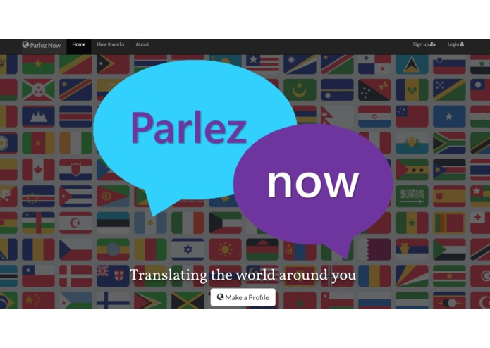 Parlez Now – screenshot 1