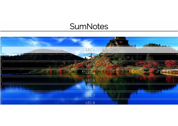 SumNotes – screenshot 2