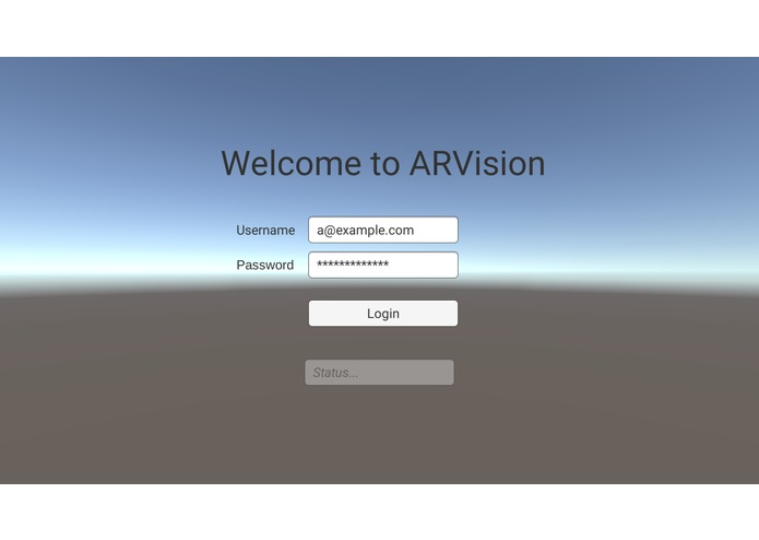 ARVision – screenshot 1