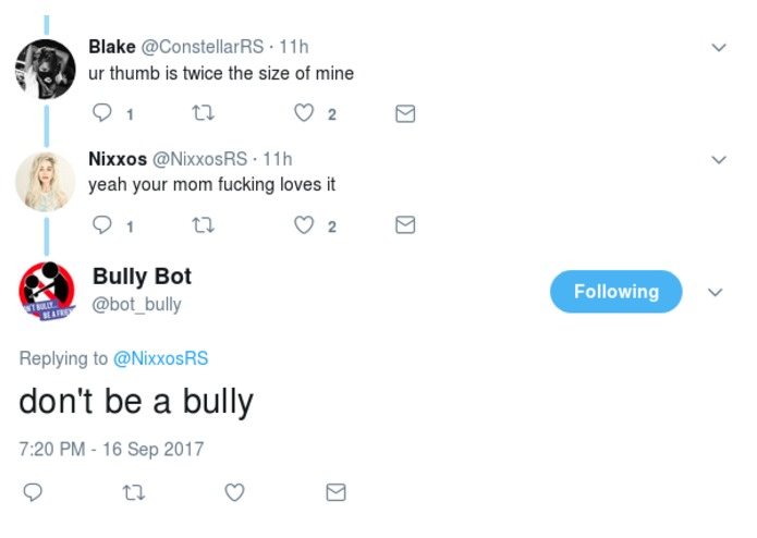 Bully Bot – screenshot 2