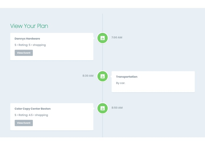 SAJE Planning - Spice up your plans – screenshot 1