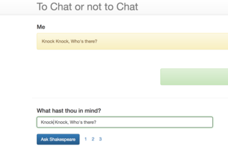 To Chat or not to Chat