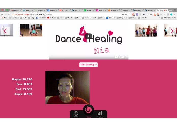 Dance4Healing – screenshot 3