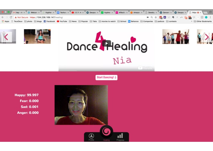 Dance4Healing – screenshot 2