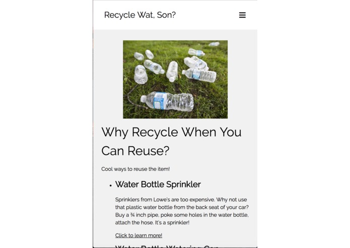 You Wanna Recycle Wat, Son? – screenshot 6