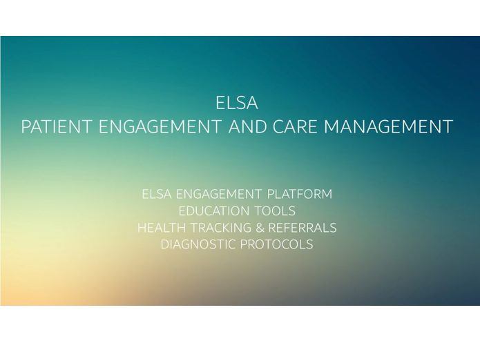 Elsa - Patient Engagement/Disease Management – screenshot 1