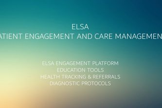 Elsa - Patient Engagement/Disease Management