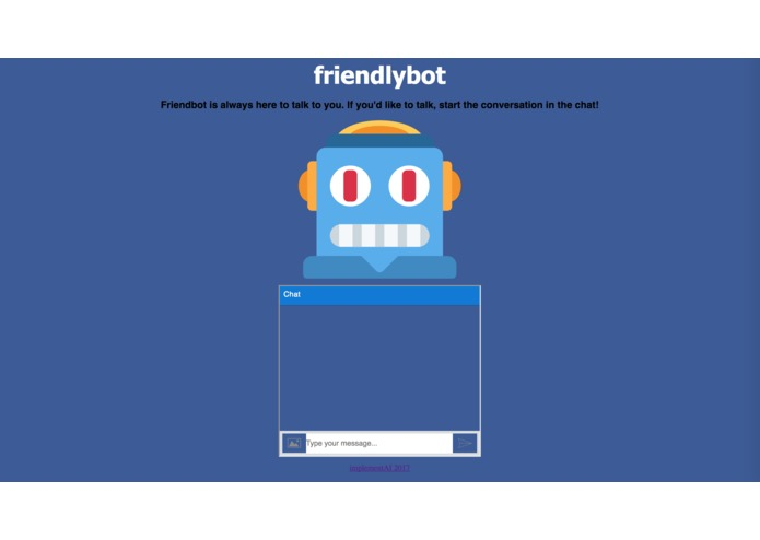 friendlybot – screenshot 1