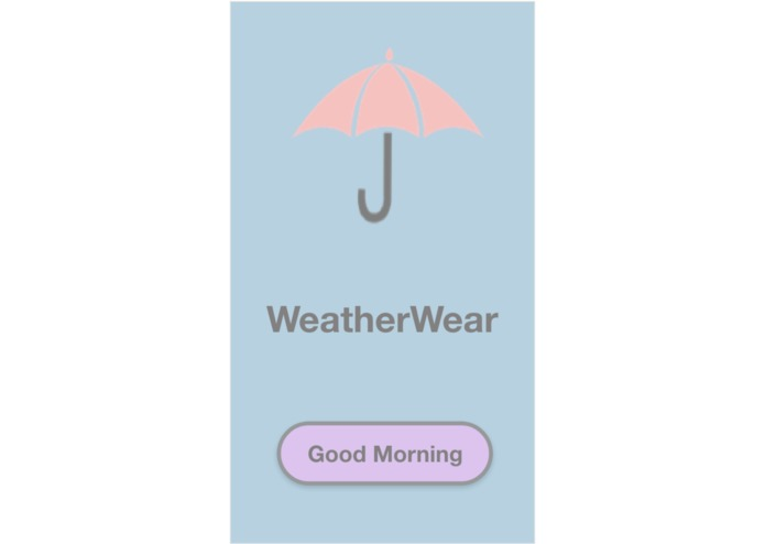 WeatherWear – screenshot 1